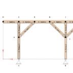 Structure statique : Poteaux et liens
