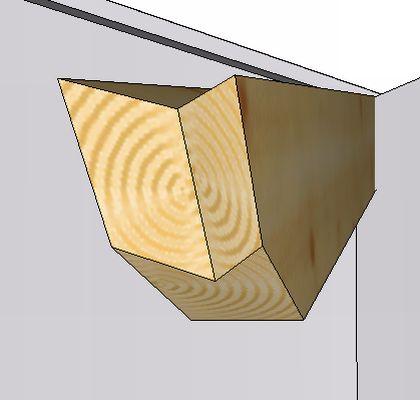 2 coupes définies à gauche ou à droite